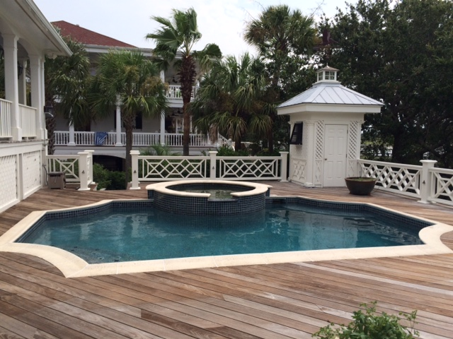 After - Charleston Pool Remodeling