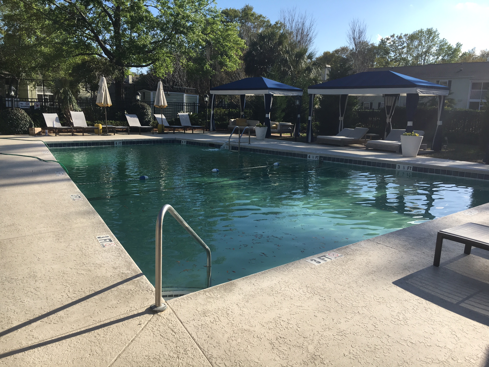 Mt pleasant pool remodel feb 2017 charleston pool experts for Pool redesign